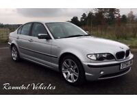 IMMACULATE 2004 BMW 320 ( 2.2 ) SE 6 CYLINDER AUTO SALOON, LOW MILES 95K MOT MAY 2018 7 SERVICES !!