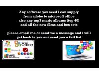 all software in for your pc