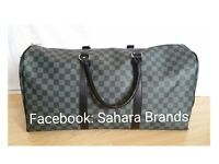 Brown check Lv Shoulder Gym bag Louis Vuitton Duffle Holdall Handbag £65