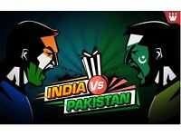 ICC TROPHY INDIA VS PAKISTAN - 2 TICKETS FOR SALE - 4TH JUNE 2017