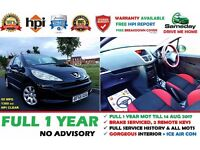 2006 (56) Peugeot 207 1.4 *** MINT CONDITION *** FULL 1 YEAR MOT *** !CLIO CORSA POLO FIESTA ASTRA