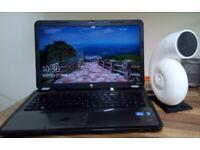 "HP PAVILION G7 17.3"" CORE I3 2330 6GB RAM 230GB SSD WIN 10 PRO DVDRW HDMI WEBCAM"