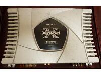 CAR AMPLIFIER SONY XPLOD 1100 WATT 1 CHANNEL MONOBLOCK CLASS D AMP TO RUN SUBWOOFER