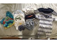 Big bundle 0-3 month boy clothes in great condition