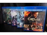 Grimm Season 1-5 Blu-Rays