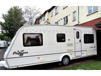 Caravan for sale. 2004 Bailey Pageant Vendee with fixed rear bed and motor movers
