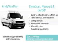 Man with van, Cwmbran and surrounding areas