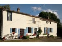 Characterful detached property located in a small hamlet near Secondigny in the Deux Sevres, France