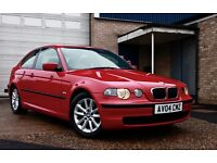 2004 BMW 320d Compact with FSH & recent engine rebuild