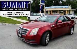 2009 Cadillac CTS 4 | AWD | CAR-PROOF CLEAN | LEATHER | BLUETOOT