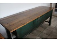 Stunning Rustic reclaimed Timber Sideboard with Natural Polished surface