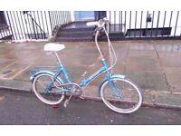HERCULES VINTAGE FOLDING BICYCLE