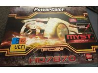 Powercolour AMD 7870LE graphics card 2gb GDDR5