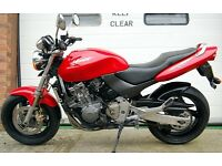 1999 HONDA CB600F HORNET RED CB 600 F CBF P/X TO CLEAR