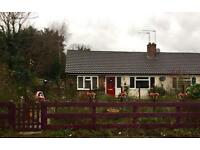 Seeking exchange not fot rent, read the advert! 2 bed bungalow in Rural village