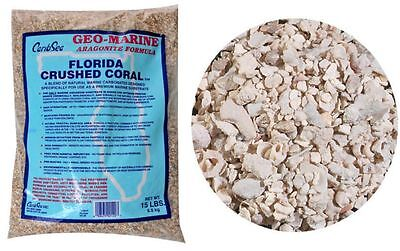 Caribsea Florida Crushed Coral For Aquariums 15Lbs