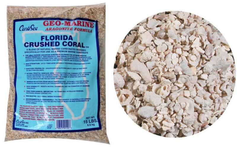 CaribSea Florida Crushed Coral for Aquariums.15lbs.