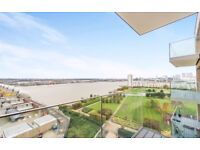 WOW 2 BEDROOM FLAT WITH RIVER VIEWS,PRIVATE BALCONY IN Waterside Park,Waterside Heights, Royal Docks