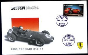 FERRARI BUSTA UFFICIALE - FERRARI 1958 246 F1 - Italia - L'oggetto può essere restituito - Italia