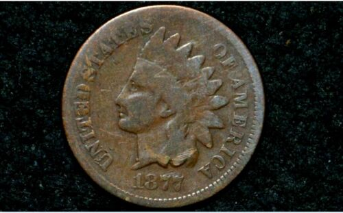 1877 Indian Head Cent** G/VG **NICE BROWN** Take 5% Off Right Now !