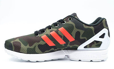 ~NEW~Adidas ZX FLUX CAMO Running 8000 TORSION 700 Camouflage gym Shoes~Mens sz 9