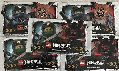 LEGO NINJAGO TRADING CARDS SERIES 3  Rare 5 X Sealed Packets
