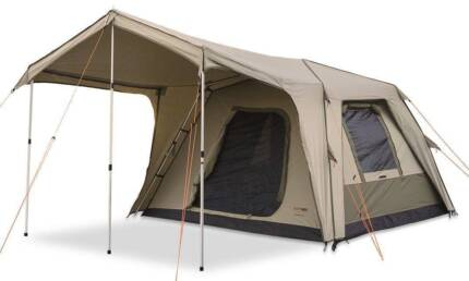 Black Wolf Turbo 240 Tent with Awnings in Great Condition