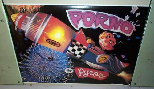 PORNO FOR PYROS Vintage LP Poster -