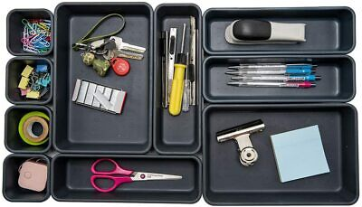 Interlocking Desk Drawer Organizer Separators For Officebathroomkitchenmakeup