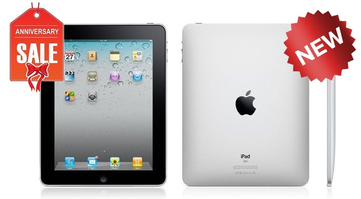 NEW Apple iPad 1st gen WiFi Tablet | Black | 16GB 32GB or 64GB |