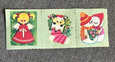 Vintage Christmas Stamps - Decorative - 1970/80's, Unused - 80s Christmas Decorations