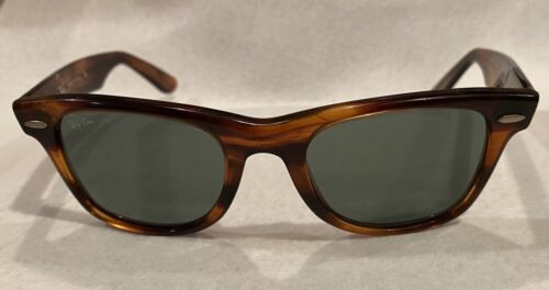 WAYFARER  SMALL VINTAGE  Bausch & Lomb / RAY-BAN 47mm USED W0949 RB2040 Italy