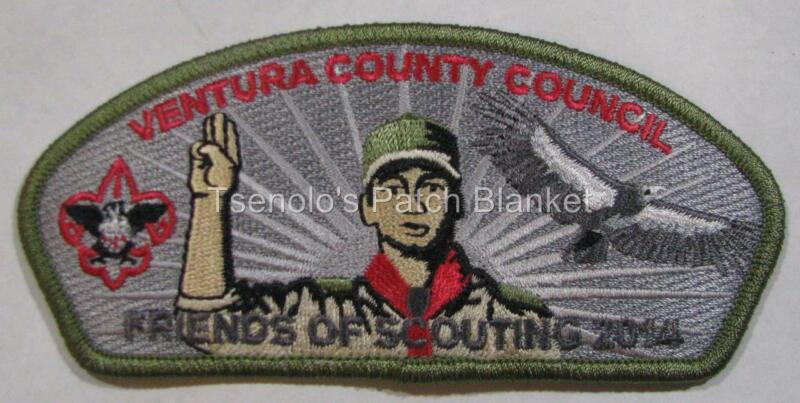 Ventura County Council 2014 FOS $150 Donation Csp Mint Condition FREE SHIPPING