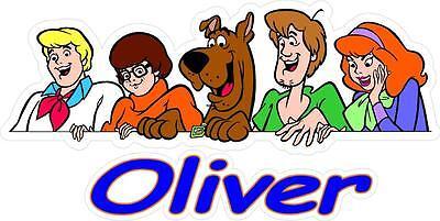 ndkunst Aufkleber DVD Figuren Spielzeug Kostüm Bett Pyjama (Mädchen Scooby Doo Kostüm)