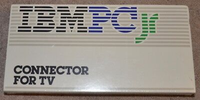 IBM PC Jr junior connector for TV new sealed vintage for sale  Shipping to Canada