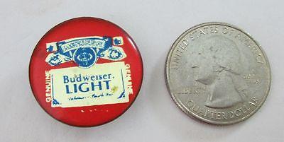 Budweiser Light beer advertising logo tie hat lapel pin
