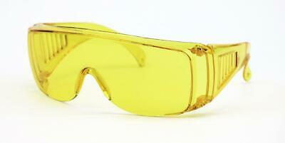 Radians Chief Yellow Otg Fit Over Most Night Driving Safety Glasses Sun Z87
