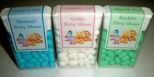 14 WINNIE THE POOH BABY SHOWER FAVORS TIC TAC LABELS ~ PERSONALIZED