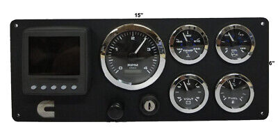 Cummins Engine Boat Instrument Panel Pre wired USA Made
