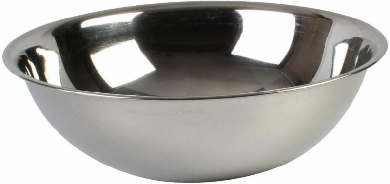 Thunder Group 20 QT MIXING BOWL, HEAVY DUTY, STAINLESS STEEL, 22 GAUGE