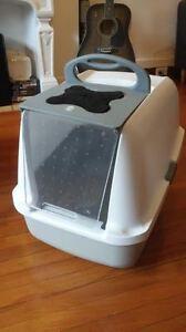 Bac à litière recouvert pour chat Catit/Catit Hooded Cat Pan