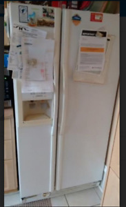 Refrigerator with ice maker - 437-993-3448