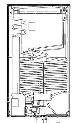 Dometic 3313470.003 Refrigerator Cooling Unit 606 with Thermal Fuse