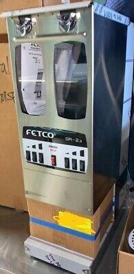 Fetco Gr-2.3 Dual Hopper Coffee Grinder G0213