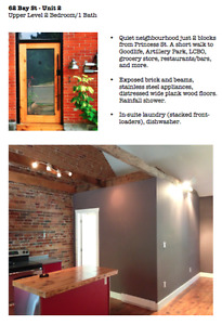 Downtown 2 Bdrm - Attention Grad Students, Young Professionals