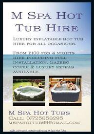 M Spa Hot Tub Hire