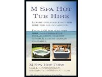 M Spa Hot Tub Hire