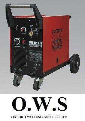 Sealey Mightymig210 210amp Gas No Gas Mighty Mig Welder Extras