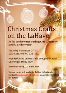 Christmas Crafts Show on the LaHave