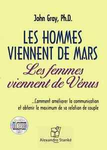 LES HOMMES VIENNENT DE MARS, LES FEMMES VIENNENT DE VÉNUS Best-s
